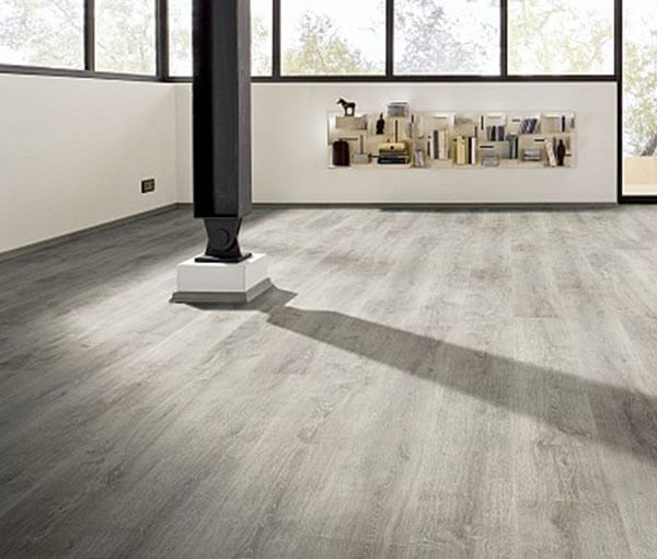 FL-Floors dryback PVC smoked grey vloer