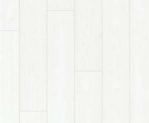 wit oude geschilderde houten laminaat vloer extra wit