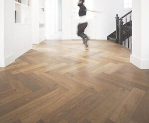 FL-Floors Dryback Visgraat PVC nature oak
