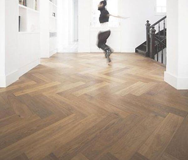 FL-Floors Dryback Visgraat PVC nature oak