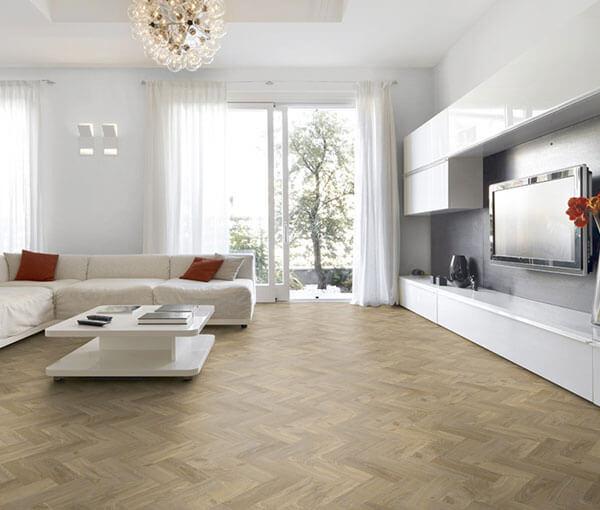 FL-Floors Dryback Visgraat PVC Rustic Oak