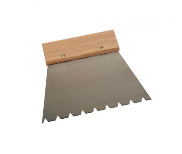 Grove lijmkam geschikt voor houten vloer