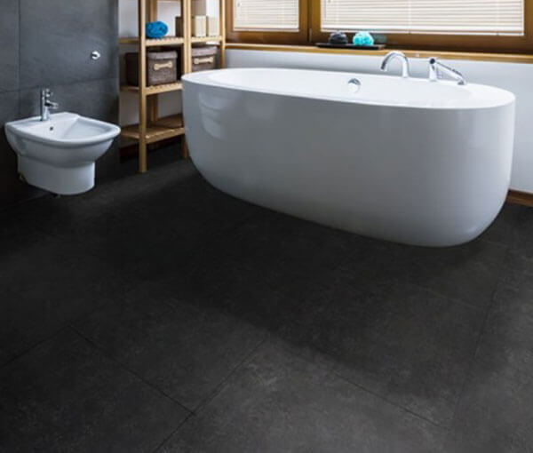 FL-Floors dryback black stone