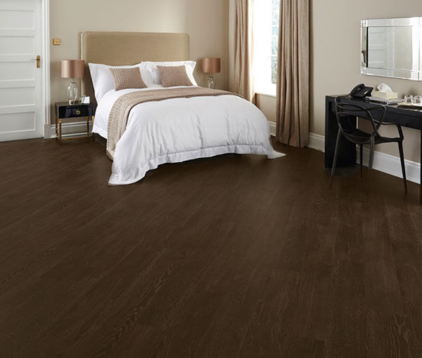 FL-Floors dryback oak brown dark