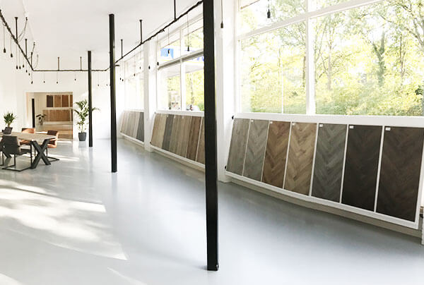 Showroom Floorsite Terschuur Vloeren