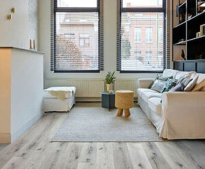FL-Floors Click PVC Rigid Core Dark Grey
