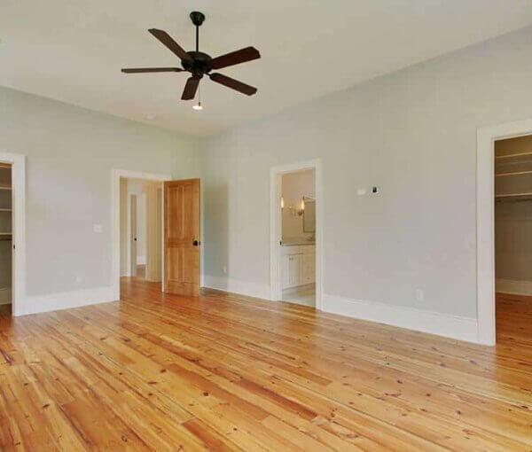 Grenen houten vloer 12cm breed
