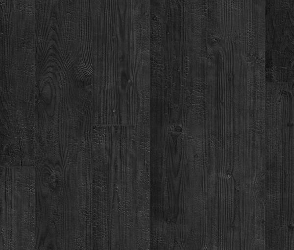 gebrande zwarte planken houten laminaat