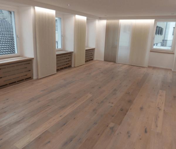 Multiplank Houten vloer 18cm Barnwood Raw Oak White wash