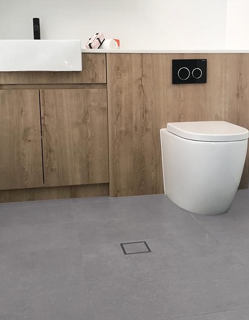 Klik pvc Cement Grey