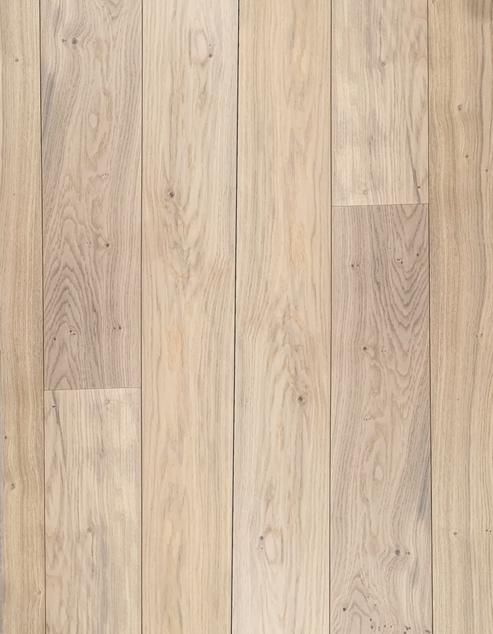 Lamelparket Rustiek 19cm breed Whitewash 3mm Eiken Toplaag