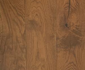 Lamelparket Rustiek 19cm breed Natural Brown 3mm Eiken Toplaag