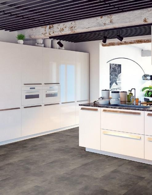 Lijm pvc Gelasta Pure Tile 8509 Basalt Brown