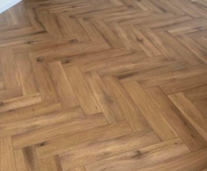 Lijm/Dryback Visgraat PVC Gelasta Callisto 4200 Natural Oak Dark