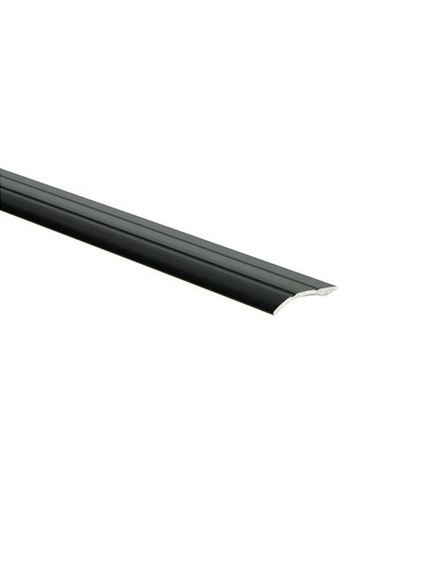 Overgangsprofiel zelfklevend 0-20 mm zwart
