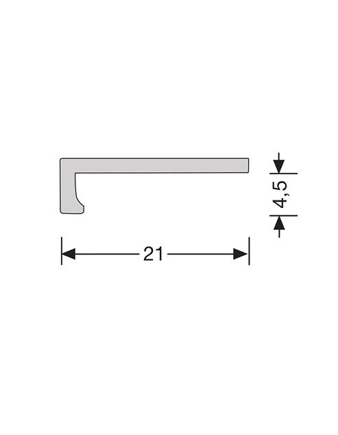 hoekliijn 4mm pvc vloer maten