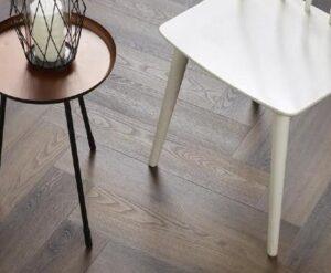 Klik PVC visgraat Ambiant Spigato 3501 warm brown
